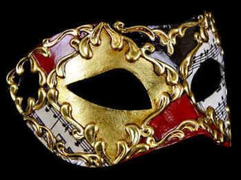Musica Lux Masquerade Masks