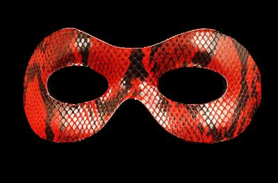 Lust Leather Masquerade Mask