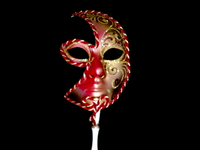Venetian Masquerade Stick Masks Category Image
