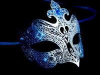Fantasia Lady Mask - Blue