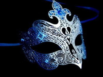 Fantasia Lady Mask - Blue