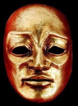 Volto Maestro Masquerade Mask - Gold