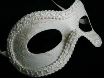 Fellini Gala Lace Luxury Masquerade Ball Mask