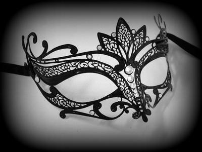 Elisabette Venetian Filigree Masquerade Mask