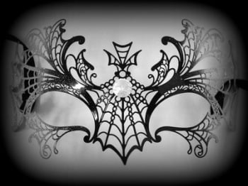 Ragnatela Glitter Filigree Venetian Masquerade Mask