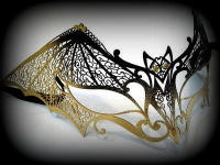Dark Temptation Filigree Mask