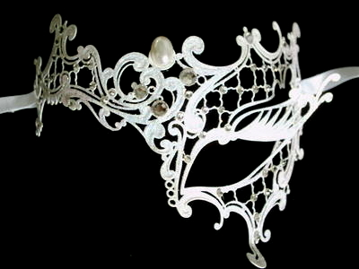 Filigree Venetian Masquerade Mask Category