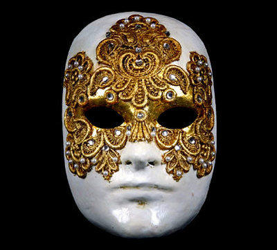 Eyes Wide Shut Full Face Venetian Masquerade Mask Category