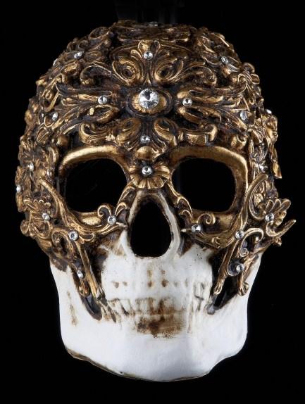 Demone Venetian Mask Nero