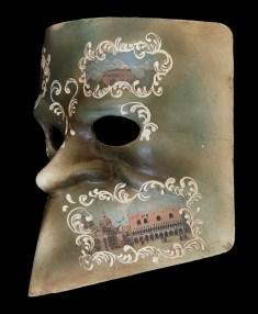 Bauta Schiavoni Ventian Masquerade Mask