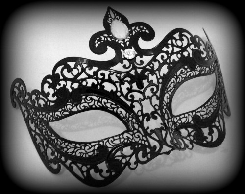Charlotte Filigree Masquerade Mask