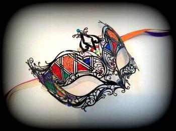 Stuzzicare Filigree Masquerade Mask - Swarovski Edition