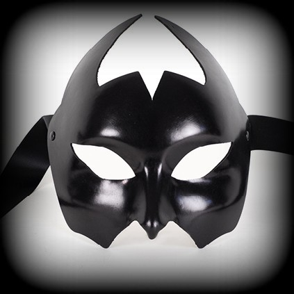 Devil Leather Venetian Masquerade Mask