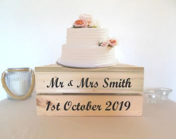 "14"" Cake stand - 2 tiers"
