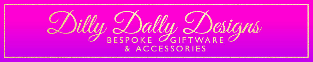 Dilly Dally Designs, site logo.