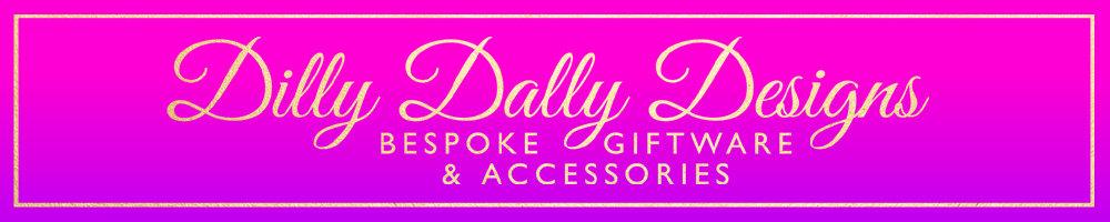 Dilly Dally Designs, site logo.