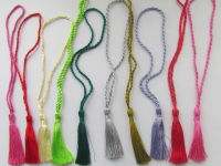 CRAFTS Cardmaking Bookmark TASSELS MULTI COLOURS MIXEDcolour Pack