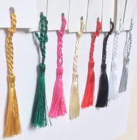 CARDMAKING BOOKMARK MINI TASSELS CRAFT BRIDAL 8 COLS