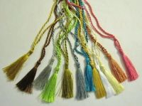 CRAFTS Cardmaking Bookmark TASSELS 12 COLOUR Pack NEW