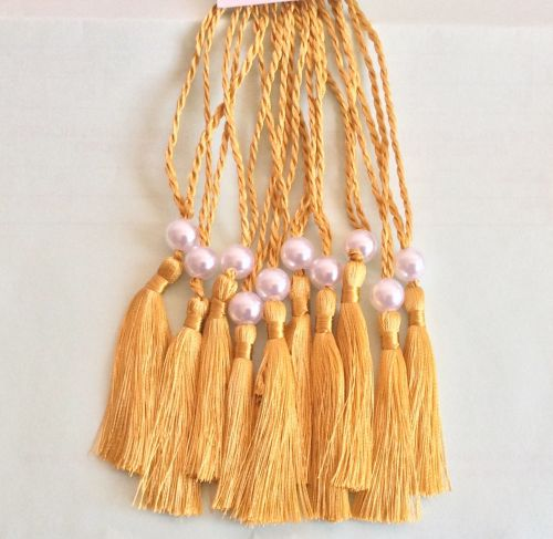 A5 Wedding Tassels for Menu Cards, Wedding Invitations, Order of Service Ca