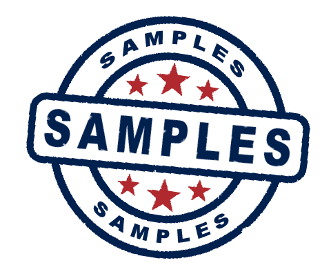 Sample Services for upto 3 Tassels