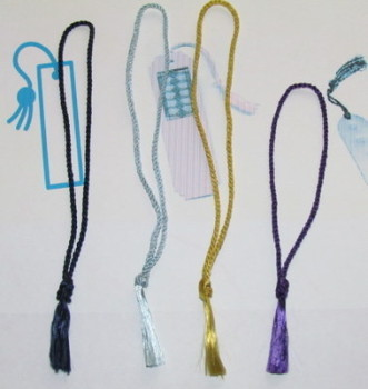 "Bookmark Tassels 5.5"" Loop - Floss Tassels - 5 Colours - Gold - Purple"