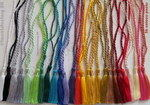 CRAFTS Cardmaking Bookmark TASSELS 26 COLOURS Pack NEW