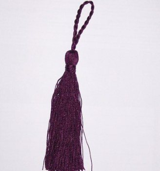 Sewing Tassels or Cushion Tassels in Purple Colour Pack of 5