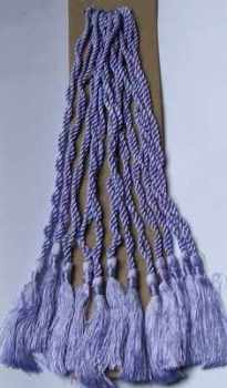 CRAFTS Cardmaking Bookmark TASSELS Lavender COLOUR Pack of 10