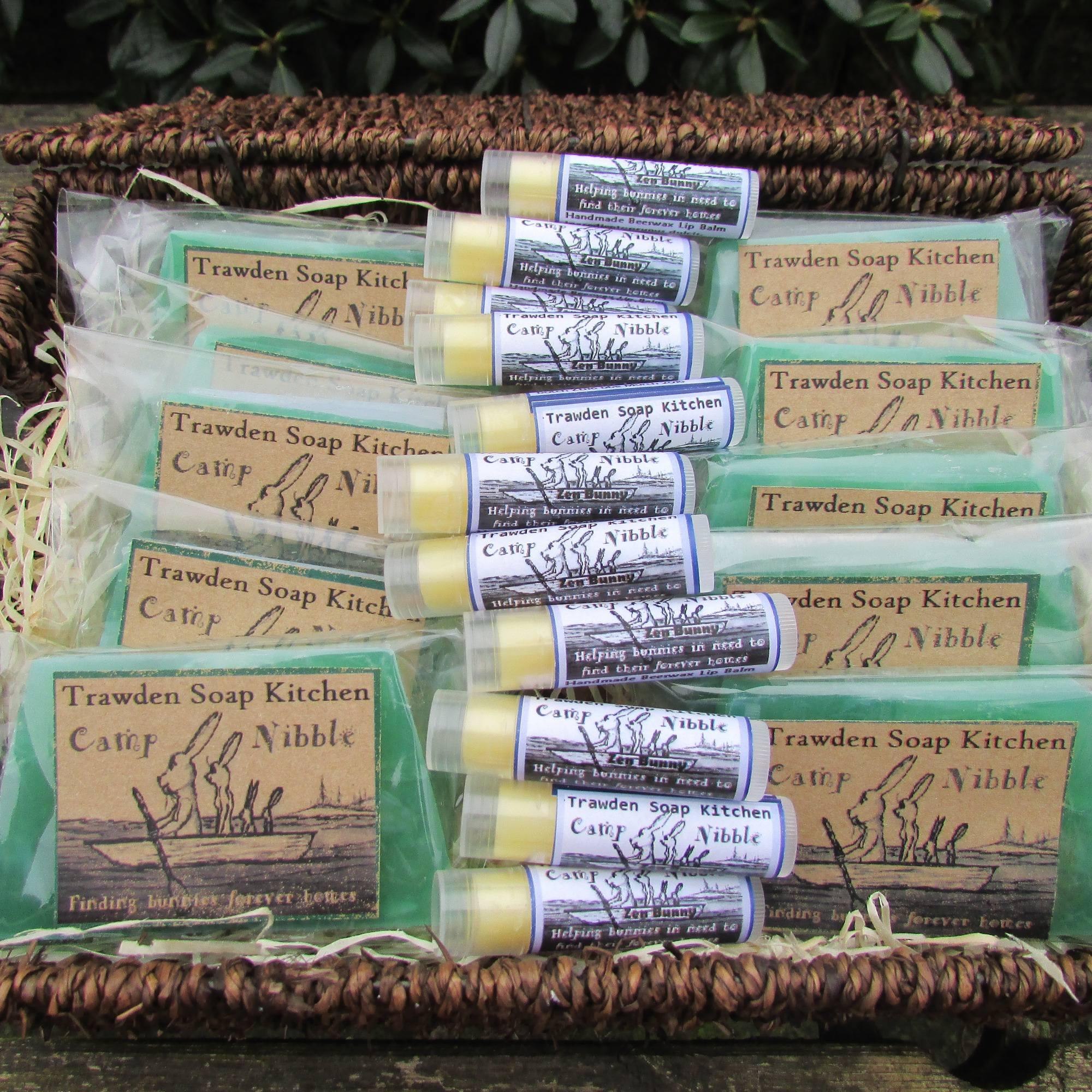 trawden sponsor soap lip balm