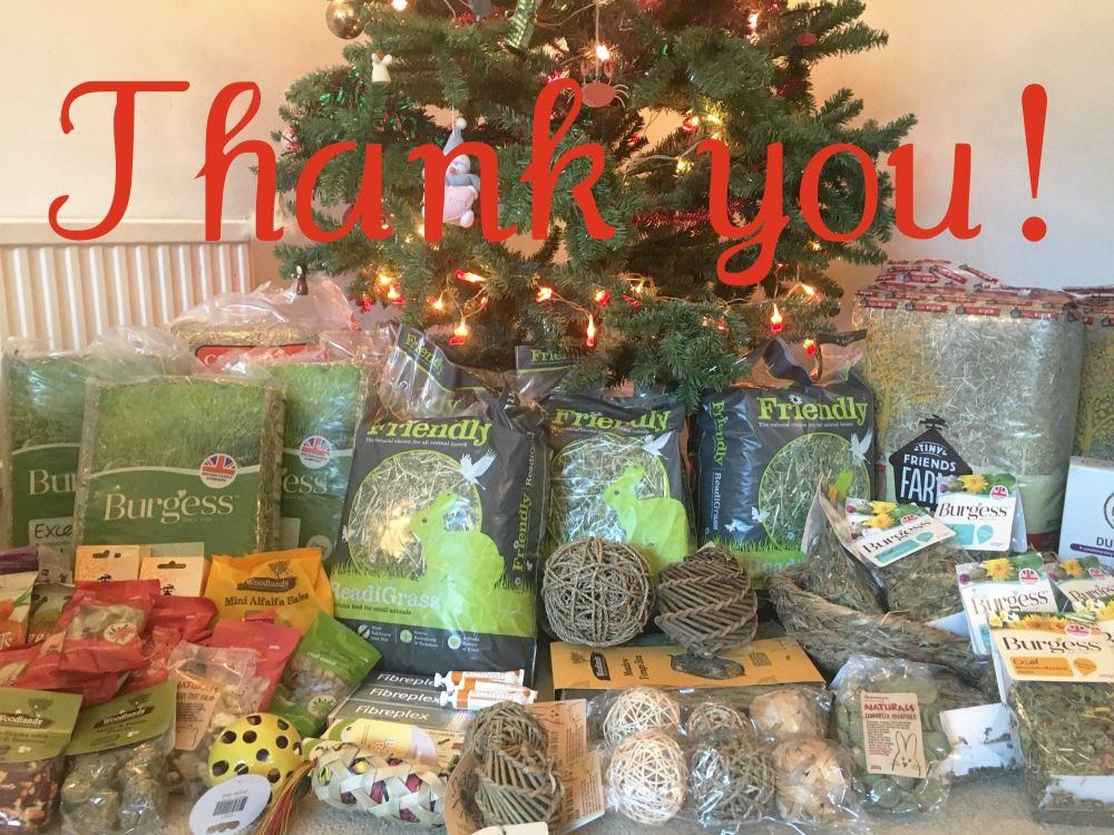 christmas wishlist thank you