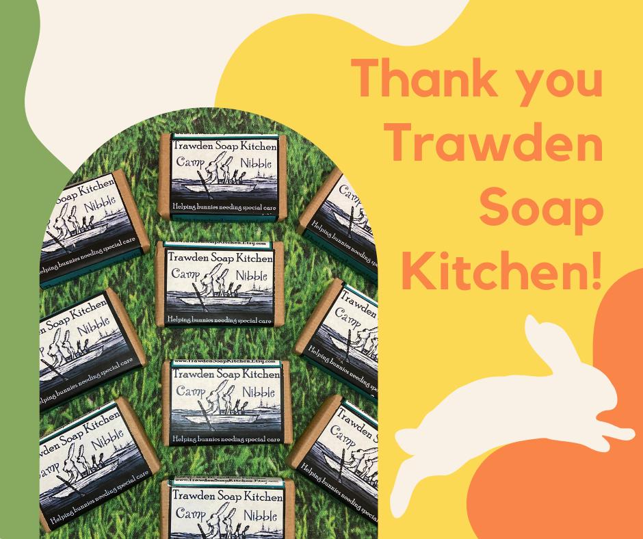 Thank you Trawden Soap Kitchen