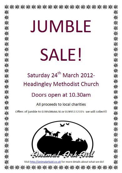 Animal Ark Aid Jumble Sale