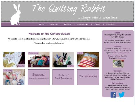 The quilting rabbit