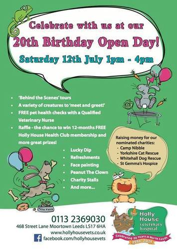 Holly house open day poster 2014