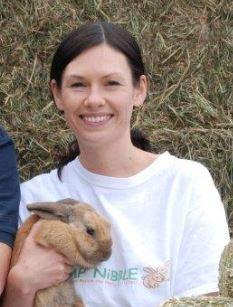 Hannah and rabbit