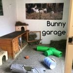 rabbit housing - sanctuary garage raw
