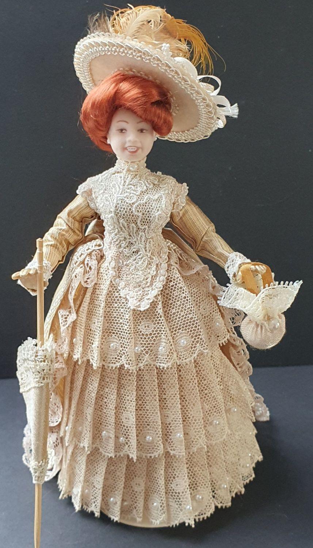 Edwardian Vintage lace walking dress