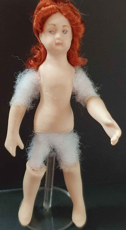 Wigged child doll kit S