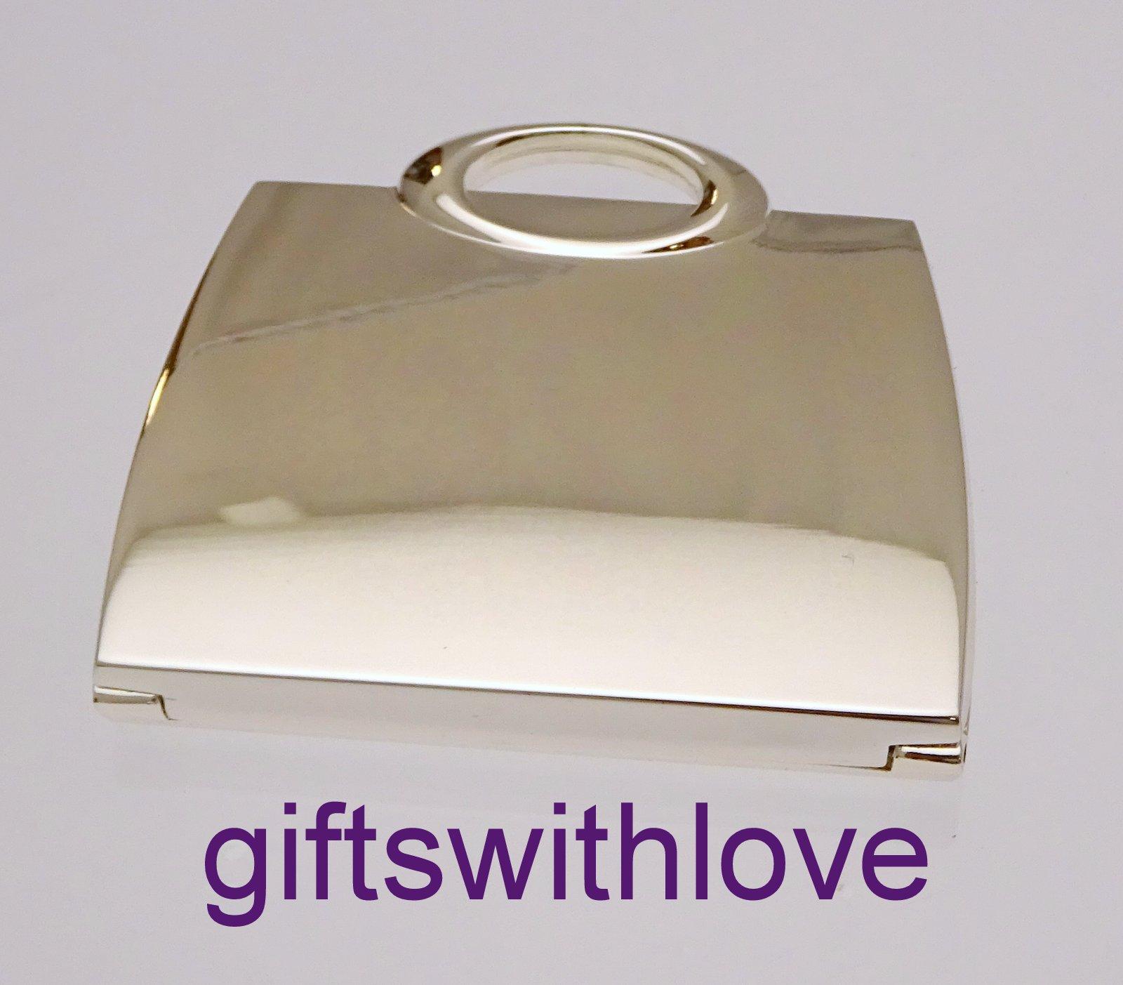 Handbag shaped Mirror Compact - FREE ENGRAVING
