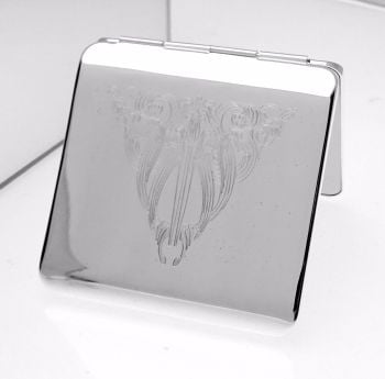 Square Engraved Mirror Compact - Free Personalisation