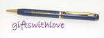 Matt Silver Ballpoint Pen - FREE ENGRAVING