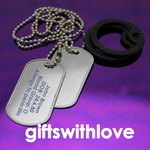 Military Style Army Dog Tags - FREE ENGRAVING