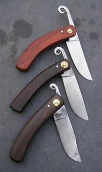 Large friction folding knife