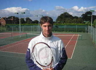 Nigel at Storrington Lawn Tennis Club