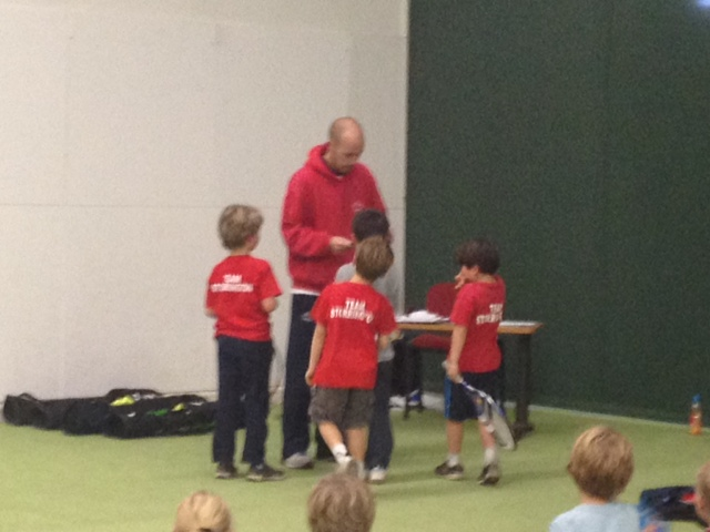 mini red tennis