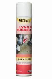 Lynne Russel Quick Gloss Hoof Oil Spray