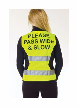 HyViz Waistcoat - Please Pass wide And Slow