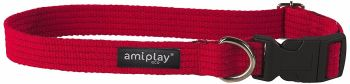 Ami-Play Cotton Adjustable Dog Collar