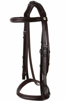 Jeffries Wembley Pro Cavesson Bridle